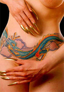 Tattoo Pictures Of Dragons