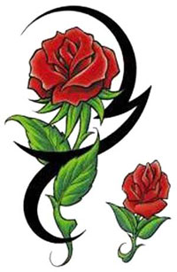 Tattoo Designs Of Roses
