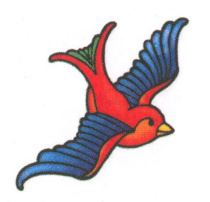 Sparrow Tattoo Art
